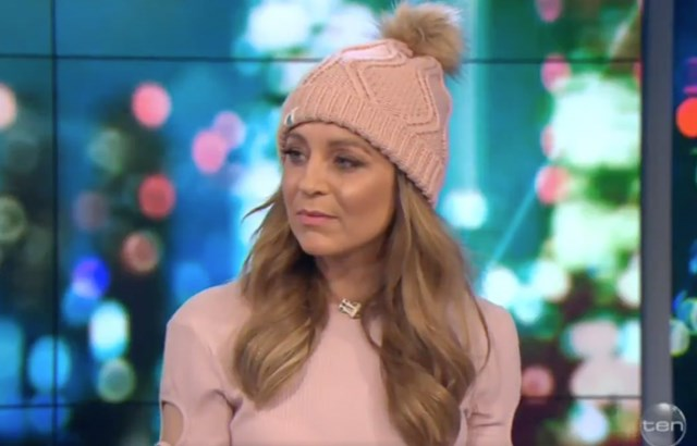 Carrie Bickmore is facing severe backlash over 'Beanies 4 Brain Cancer'
