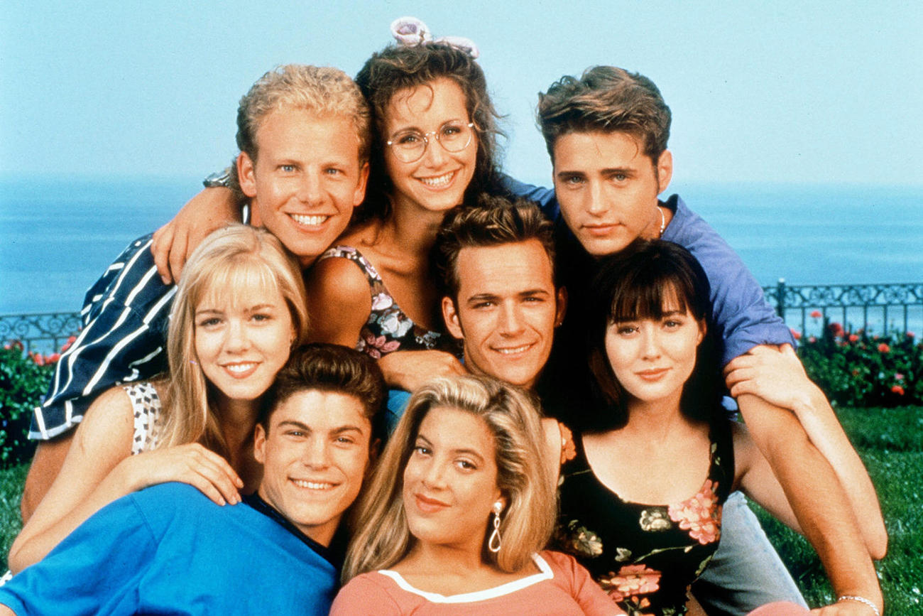Then and now the cast of beverly hills 90210 who magazine australia