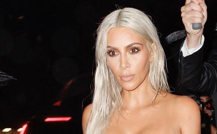 80fffa53 Kim Kardashian wears see-through leggings | WHO Magazine