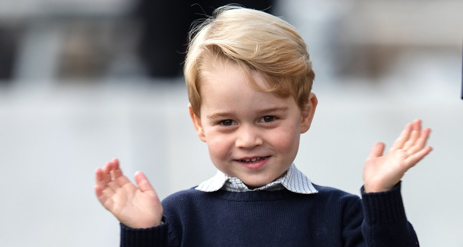 CUTENESS ALERT! Prince George's official birthday portraits over the years