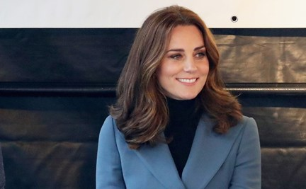 c9d5f6bab Pregnant Kate Middleton reveals she's well enough to do George's school  drop-off