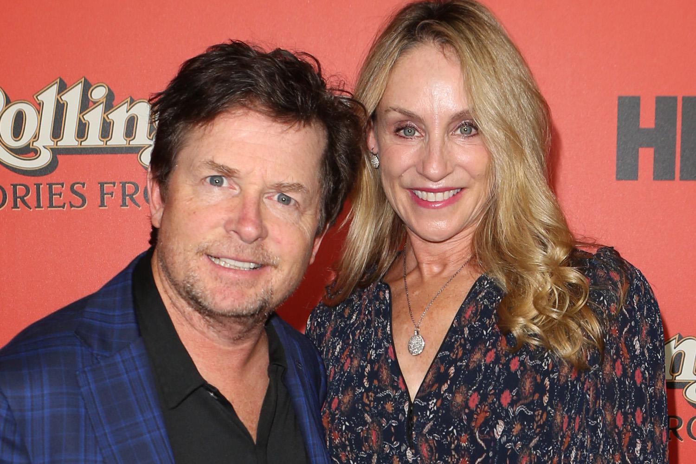 Michael J Fox And Wife Tracy Pollan Make A Rare