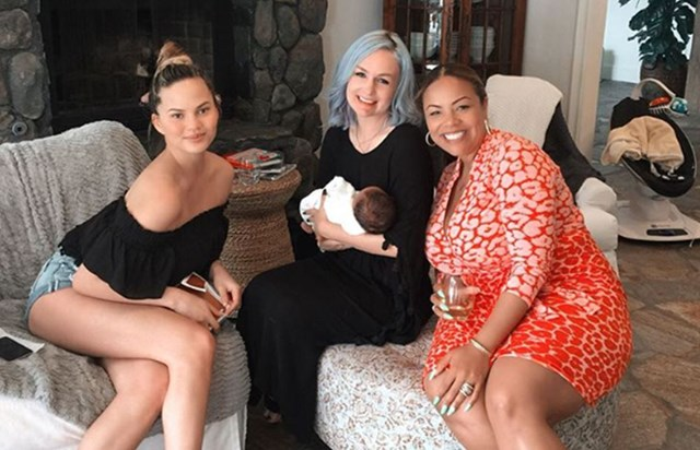Chrissy Teigen's mum is the ultimate doting grandmother