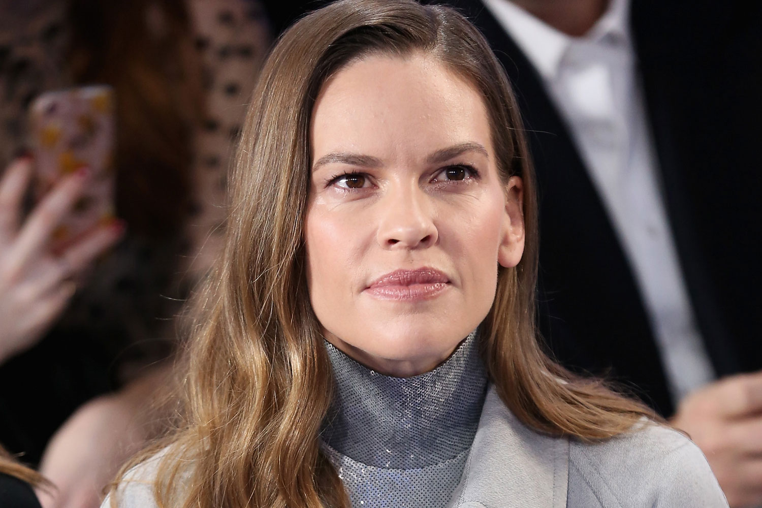 Hilary Swank revealed ...