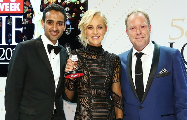 Carrie Bickmore's Surprise Logies Accessory
