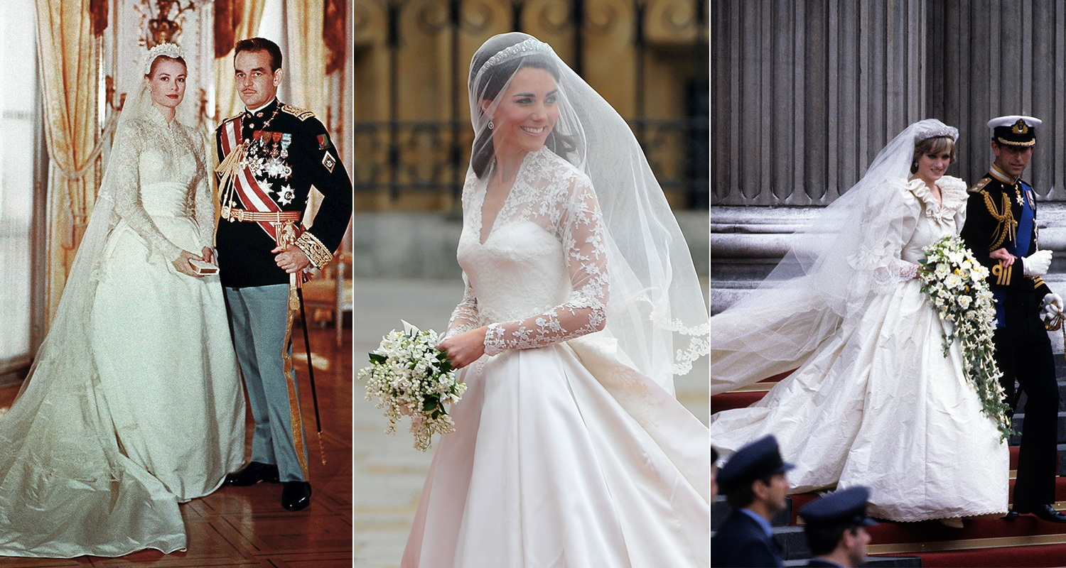 Royal Wedding Time.Best Royal Wedding Dresses Of All Time Who Magazine