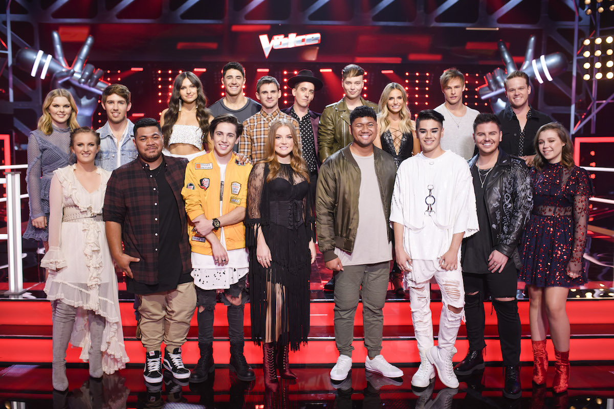 The Voice Australia 2018 Meet The Top 12 And Wildcards