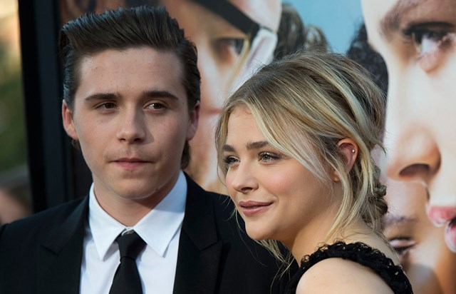 Brooklyn Beckham and Chloë Grace Moretz Make Red Carpet Debut as a Couple at Neighbors 2: Sorority Rising Premiere