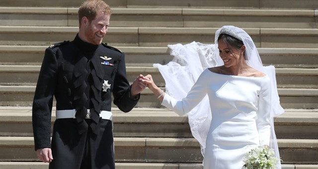Official Royal Wedding Pictures.The Meaning Behind The Colour Coordination In The Official Royal