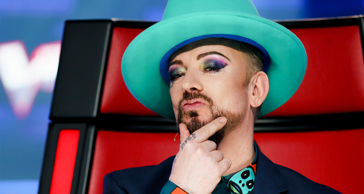 The Voice Contestants Impersonate Boy George Who Magazine