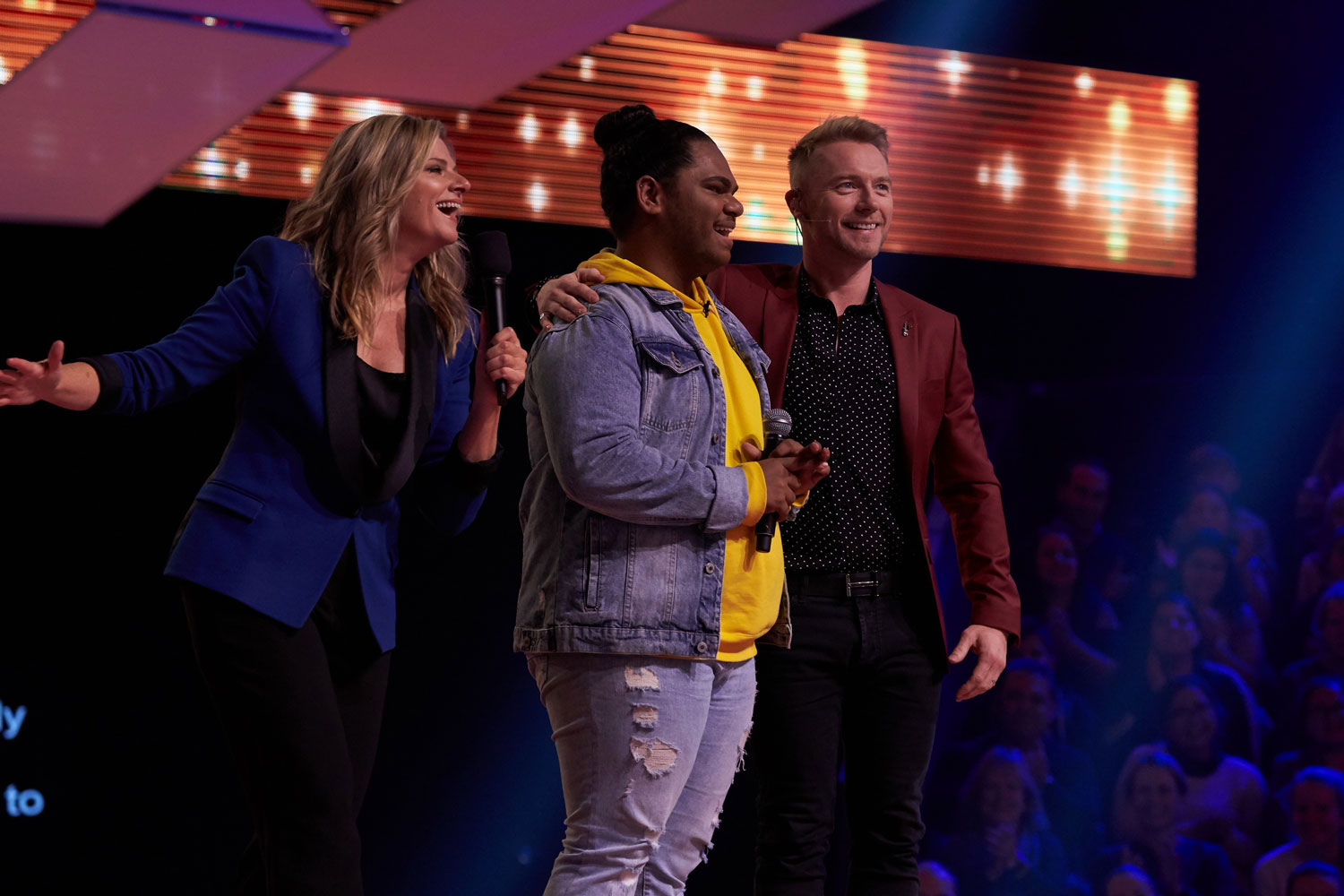 Channel 7 launches new singing competition All Together Now