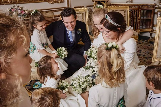 Princess Eugenie Wedding.Princess Eugenie Shares New Photo From Royal Wedding Portraits Who