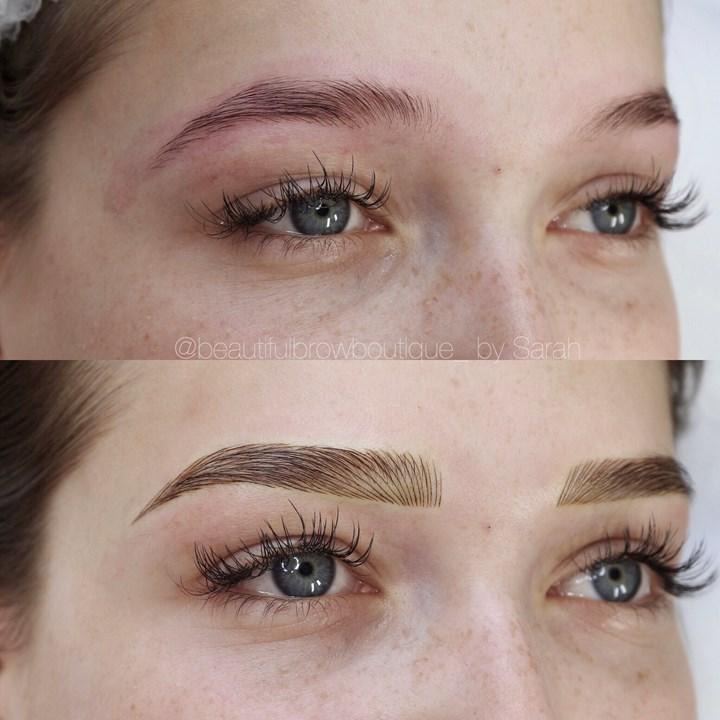 Eyebrow Tattoo – Feathering vs Microblading   WHO Magazine