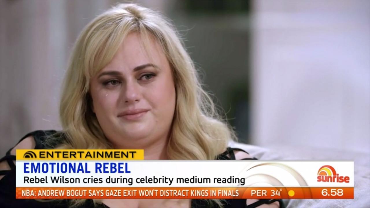 3b3d92fe0171d Rebel Wilson get emotional during celebrity medium reading