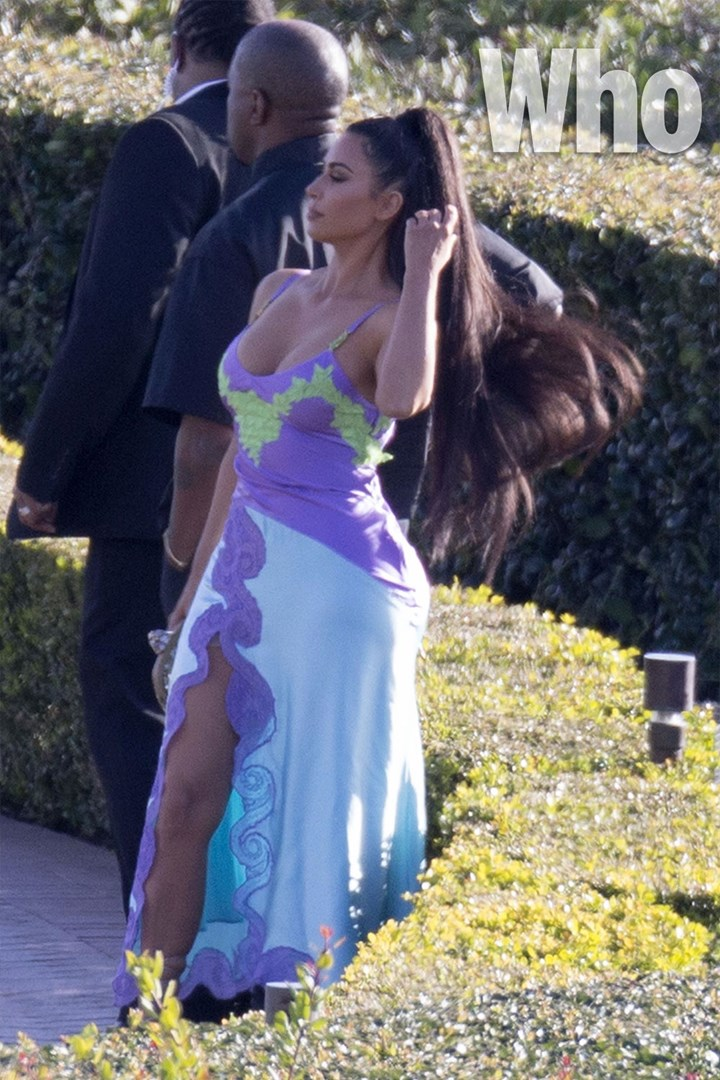 Watch Kim Kardashian And Kanye West Arriving Late To Chance The Rapper S Wedding Who Magazine
