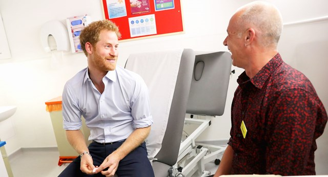 Prince Harry Takes HIV test