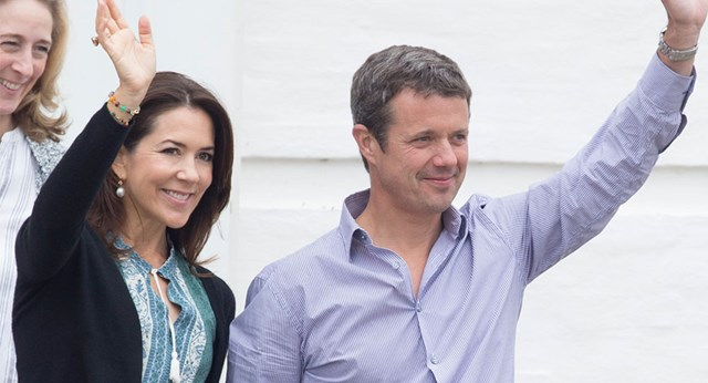Danish Royal Family attend annual photo shoot