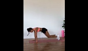 WATCH: KAYLA ITSINES' GRUELLING AB WORKOUT