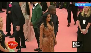 WATCH: Kim Kardashian struggles to walk in Met Gala dress