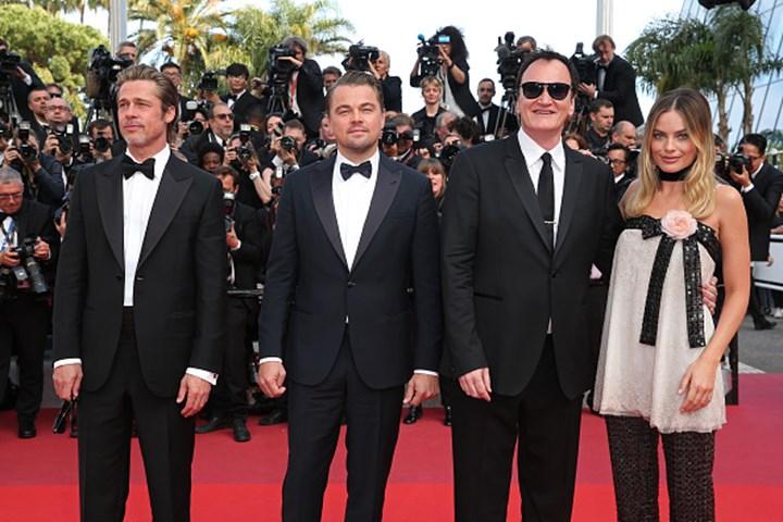 Brad Pitt and Leonardo DiCaprio were completely starstruck