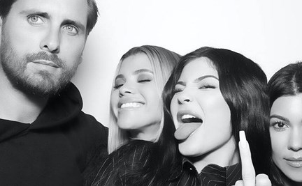 6a5d090c8d Scott Disick celebrated his birthday with current lady Sofia Richie, ex  Kourtney Kardashian and the