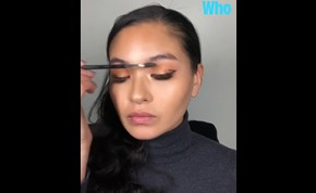 Priyanka Chopra Berry Winter Makeup Look