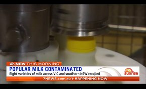 Milk recalled over contamination fears