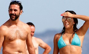 Eva Longoria and Husband José Antonio Bastón Enjoy Sweet Embrace During Beach Getaway in Spain