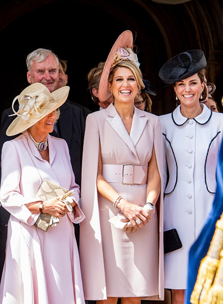 WATCH: Camilla sternly tells off Kate Middleton