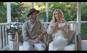 Elyse Knowles and Josh Barker talk moving to Byron Bay