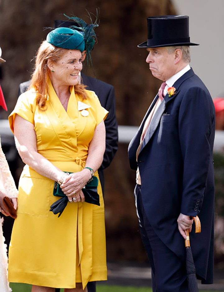 Prince Andrew reveals he is officially back with Sarah Ferguson