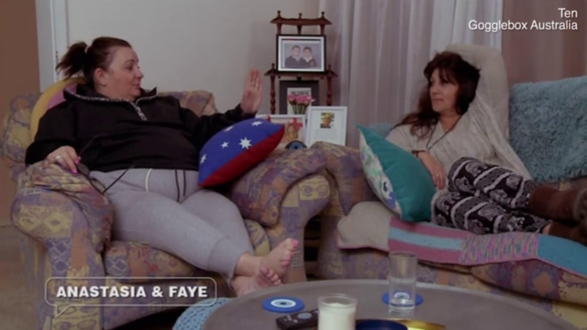 Gogglebox's Anastasia Katselas reveals she's living with her man