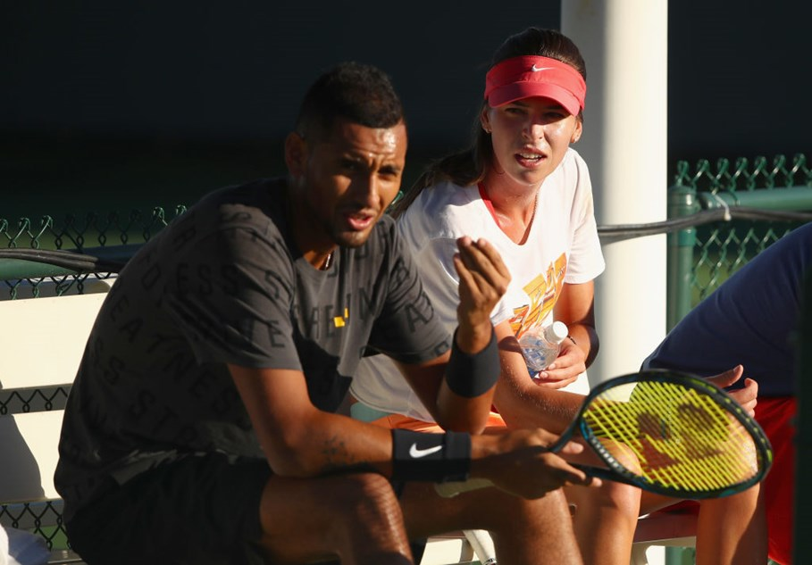 A Match Made On And Off The Courts: Nick Kyrgios & Ajla Tomljanovic