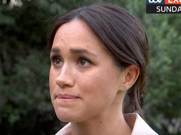 Meghan Markle tears up as she discusses gruelling life in spotlight