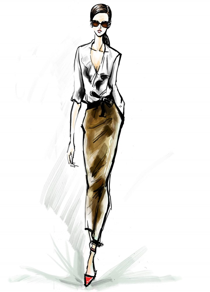Fashion Illustrations 10 Famous Fashion Illustrators Who Magazine