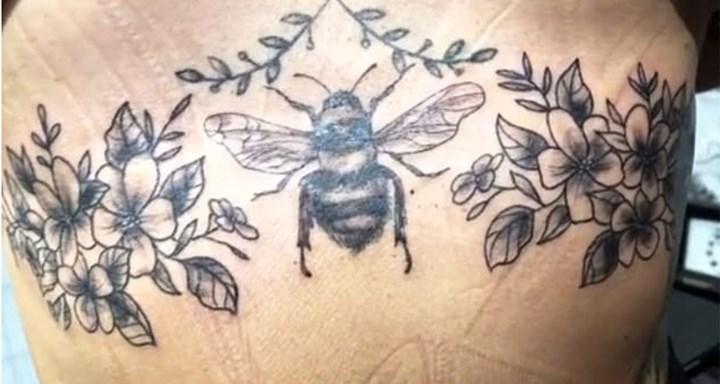 MAFS' Lizzie Sobinoff shows off new tattoo amidst health concerns