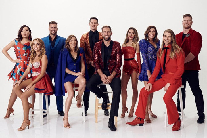 Dancing With The Stars 2020 cast: Angie Kent, Dean Wells, Chloe Lattanzi and Christian Wilkins