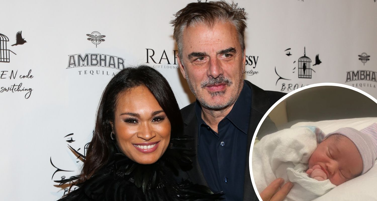 Chris Noth welcomes second son at 65 with wife Tara Wilson