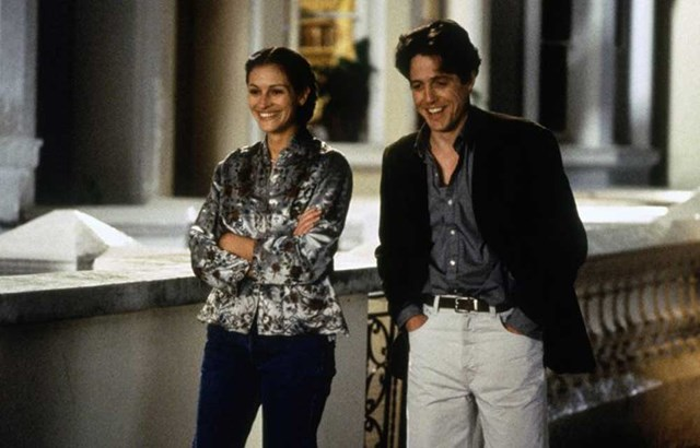 Julia Roberts and Hugh Grant