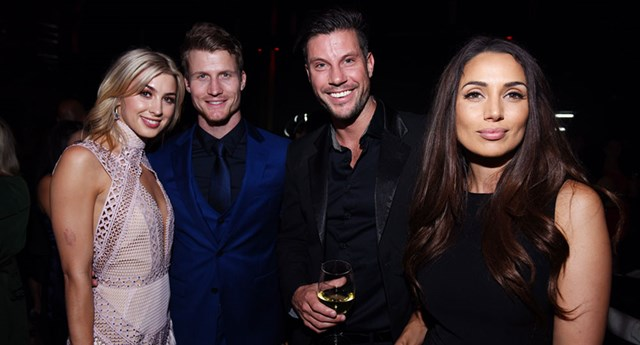 The Bachelor's Alex, Ritchie, Sam and Snezana
