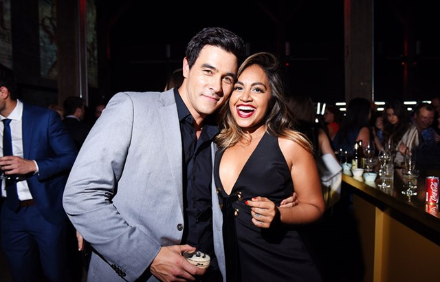 Actor James Stewart and WHO Sexiest Cover Star Jessica Mauboy