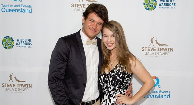 Bindi Irwin reunites with boyfriend Chandler Powell in Tasmania