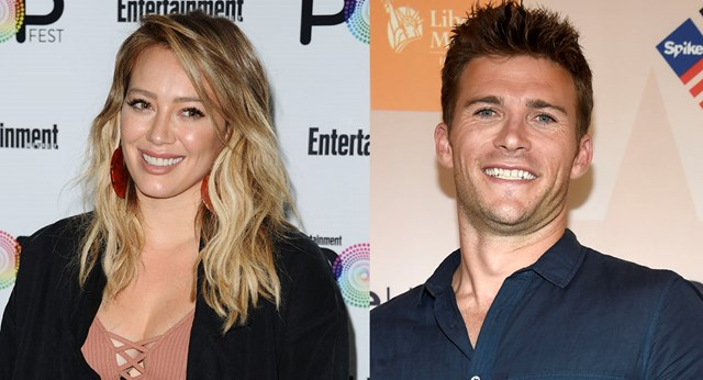 Hilary Duff spends a night out with Scott Eastwood in LA