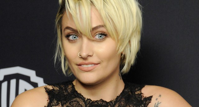 Paris Jackson makes her red carpet debut at the InStyle Golden Globes after party