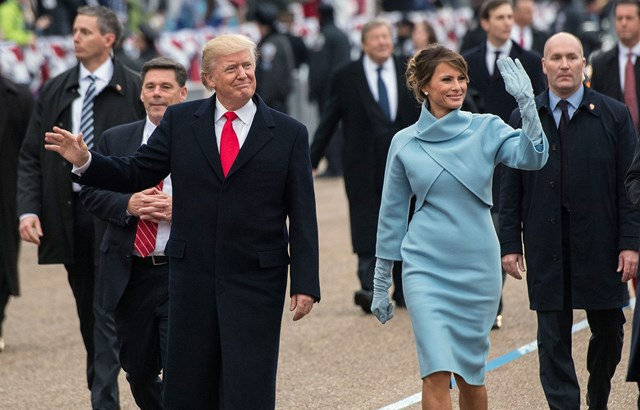 Why Donald Trump rarely holds Melania's hand in public