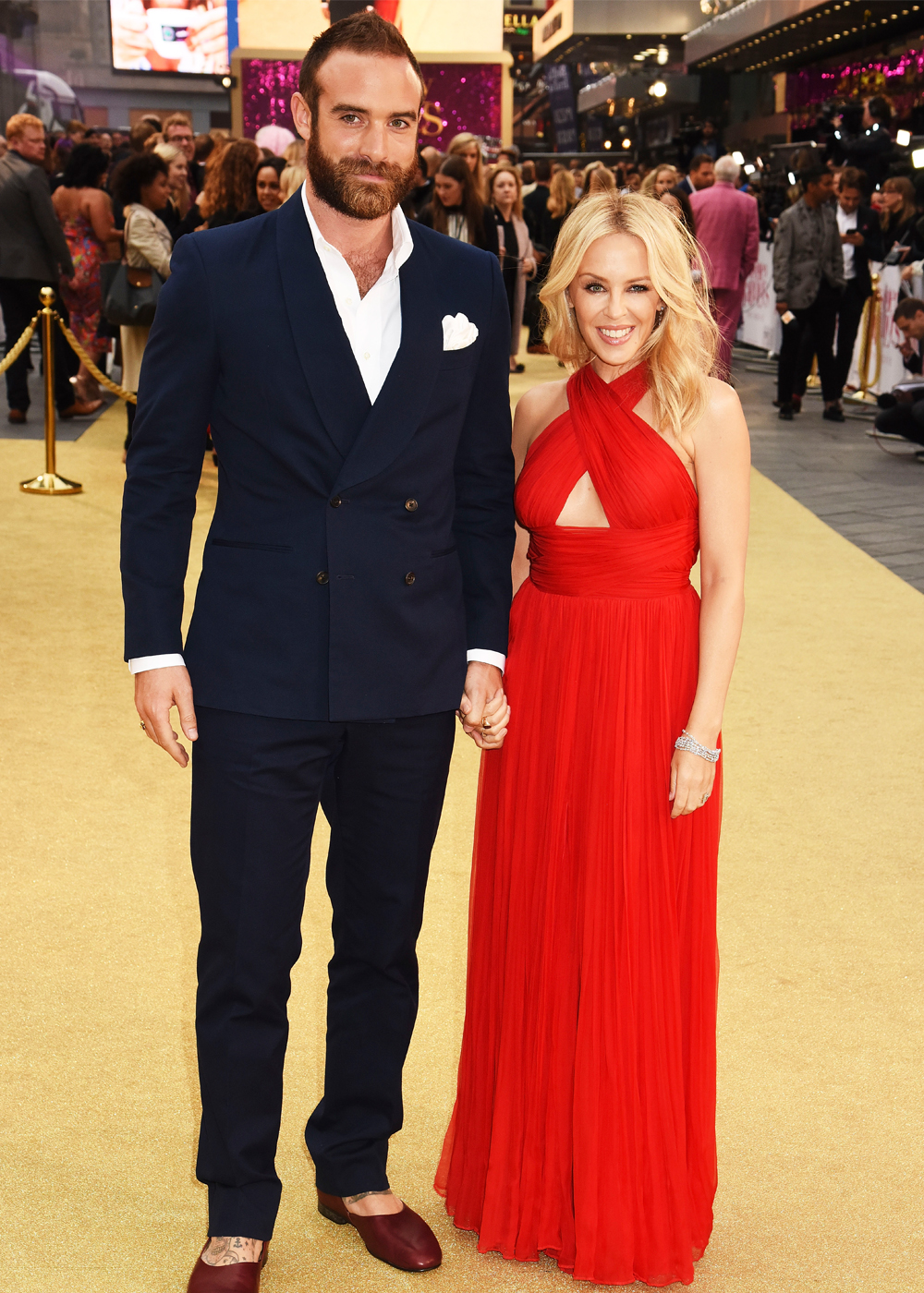 Andy Lee dating Kylie Minogue