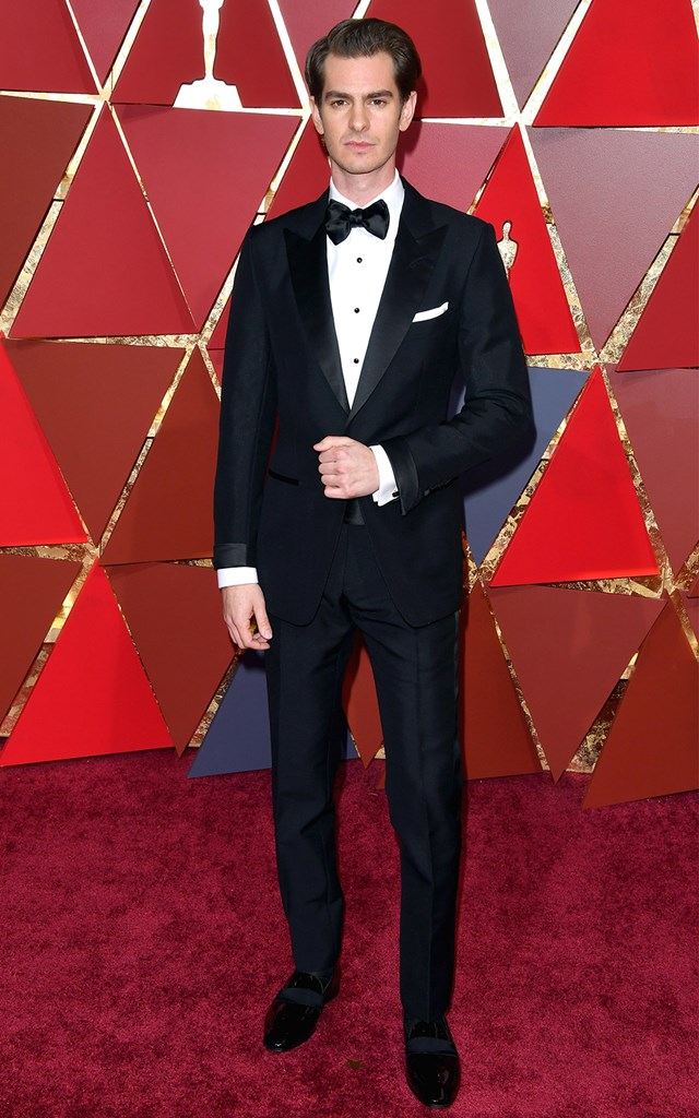 BEST PERFORMANCE IN A SUIT: ANDREW GARFIELD