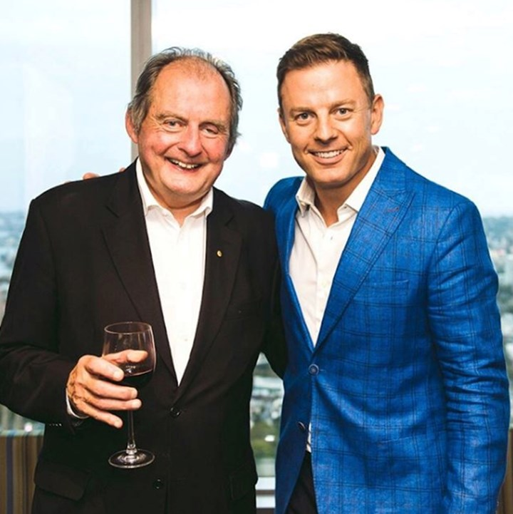 Ben Fordham's Dad has passed away after throat cancer battle